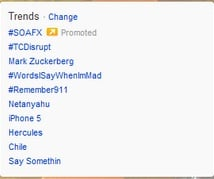 Promoted Trends
