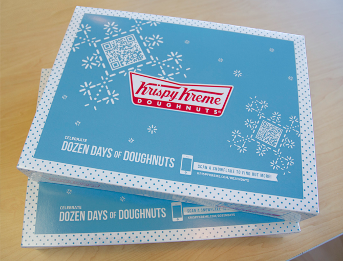 Krispy Kreme Holiday Marketing Campaign