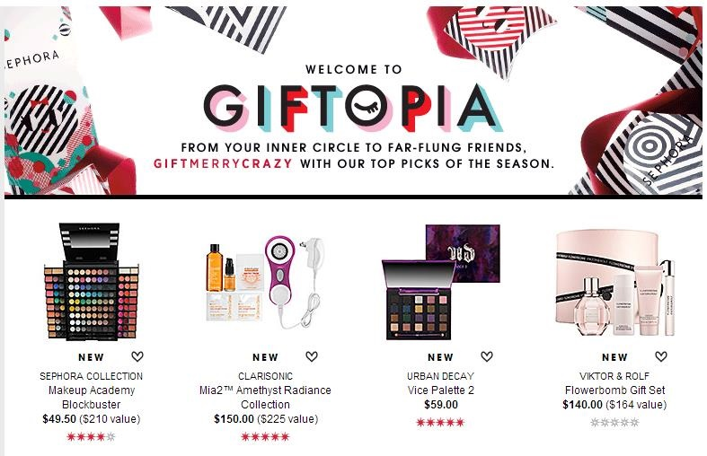 Sephora Holiday Marketing Campaign