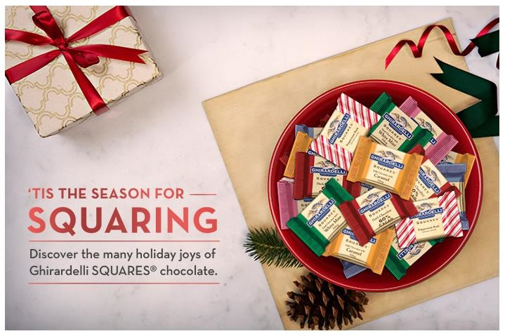 Ghirardelli Squares Holiday Marketing Campaign