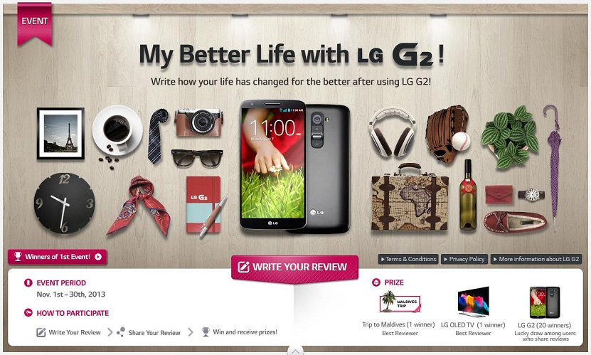 LG Holiday Marketing Campaign