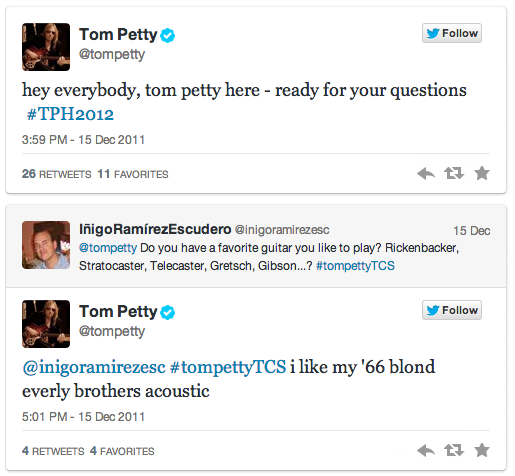 Tom Petty Q A