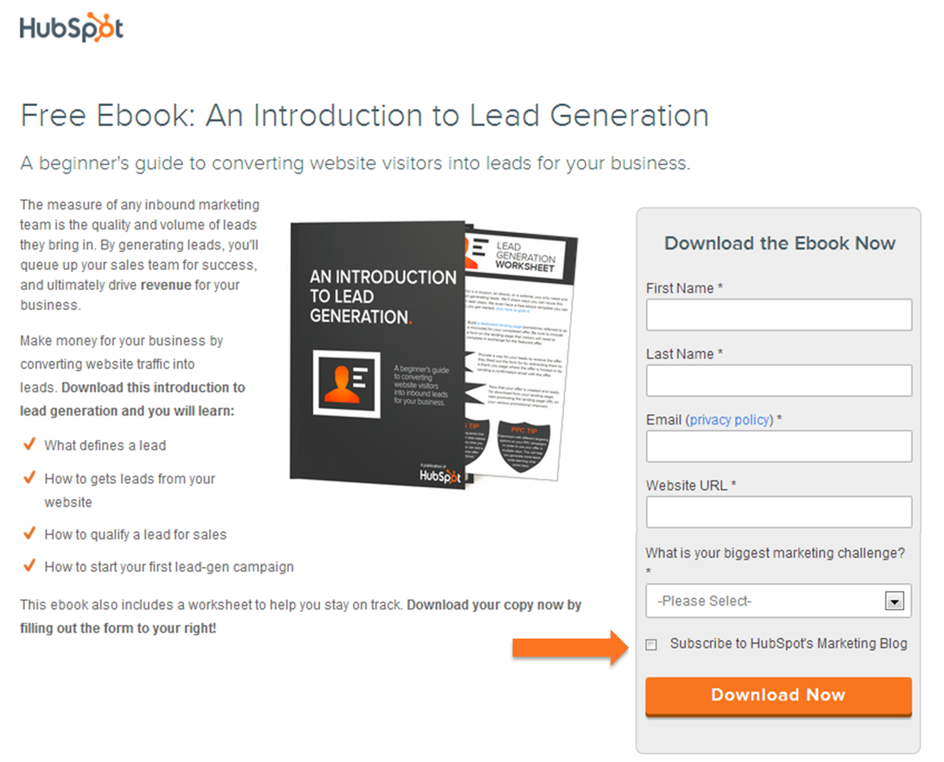 HubSpot Blog Subscribe Checkbox Tactic Easily Increases Leads