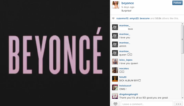 How Beyoncé Schooled You and Me in Content Marketing