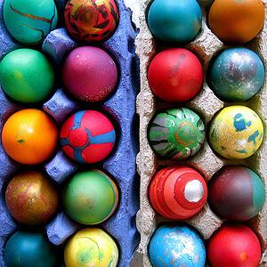 digital easter eggs