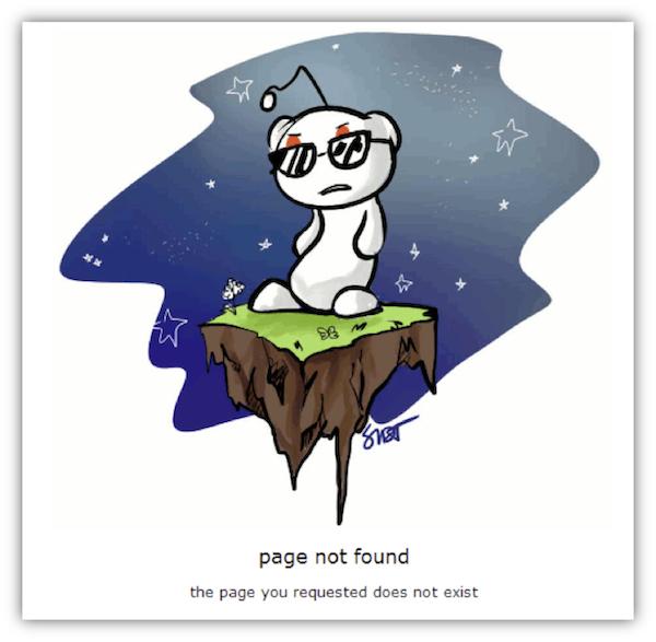 reddit 404 page