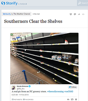 weather channel storify