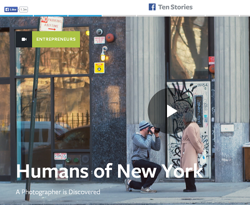 Facebook stories New York