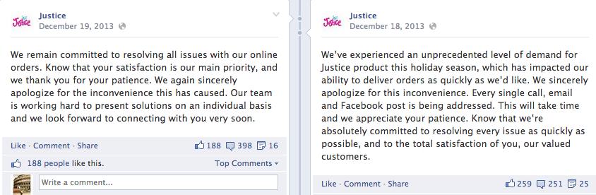 social media apology