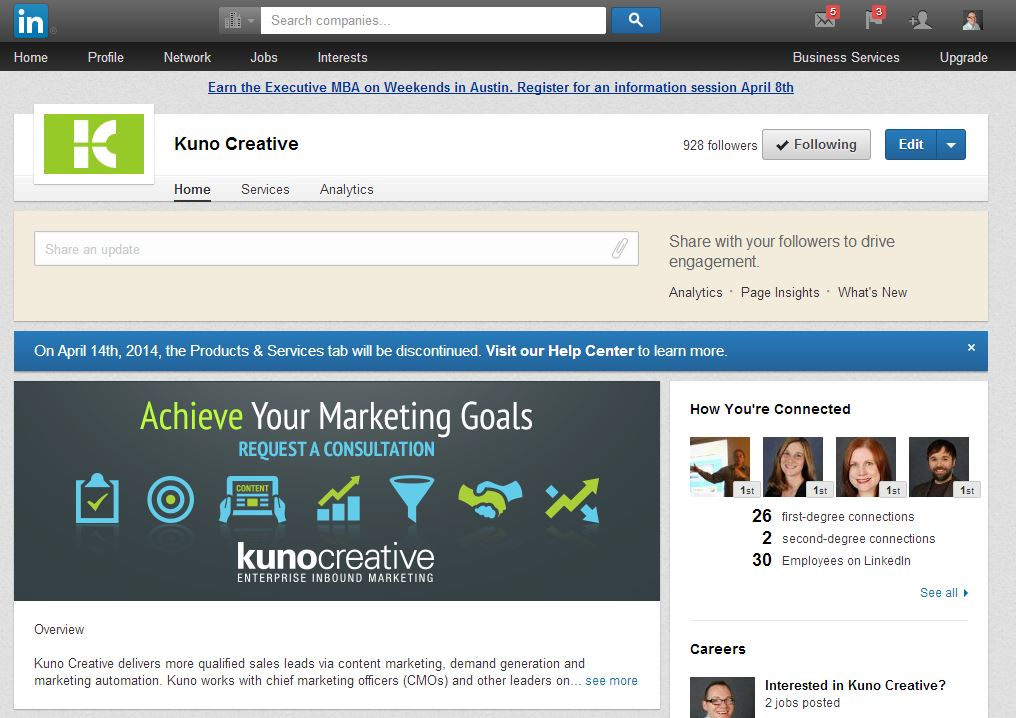 Why No Longer Having LinkedIn Products & Services Pages Is A Good Thing