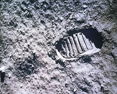 Moon footprint