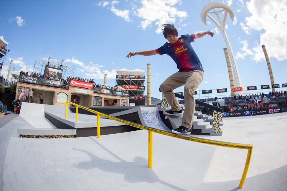 Sponsored Content during the 2014 Austin X Games.