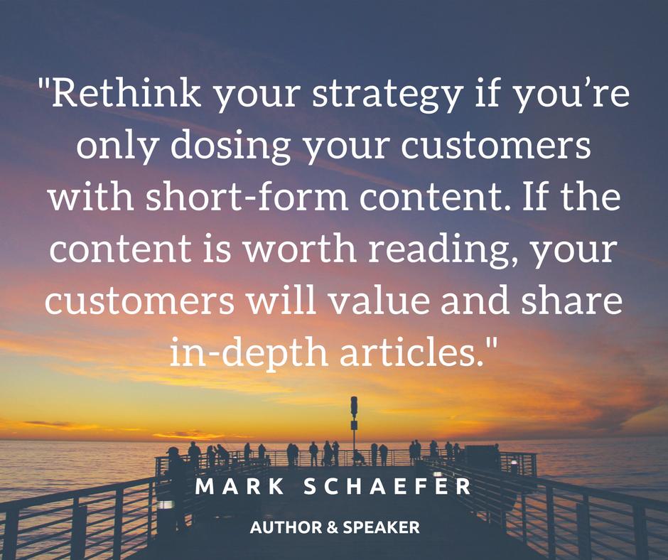 Mark Schaefer Quote