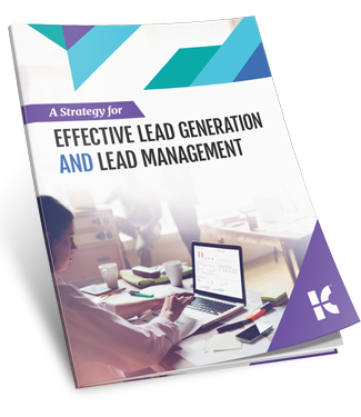 Effective Lead Generation and Lead Management Strategy