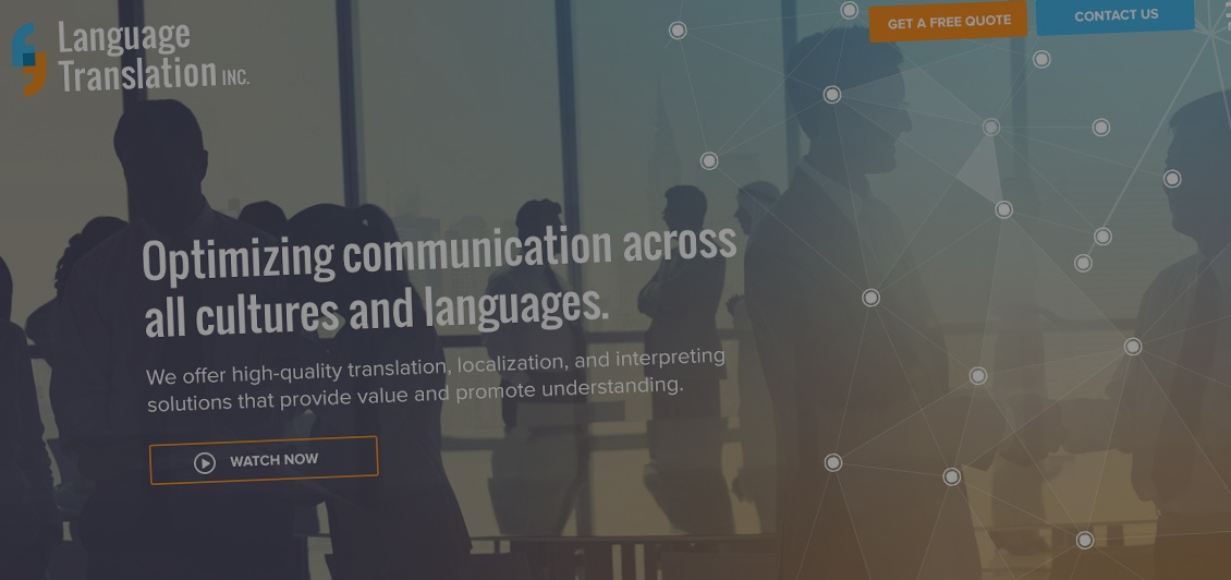 Language Translations Inc - Website Redesign