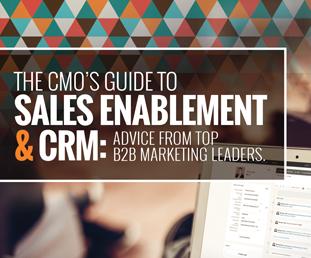 CMO Sales Enablement & CRM