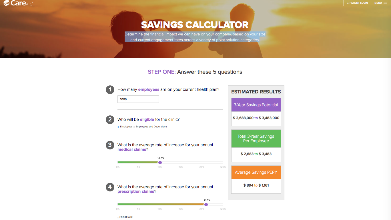 Cold Call Savings Calculator
