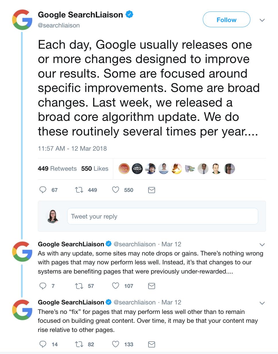 Google Algorithm Updates 4