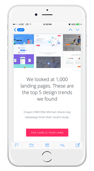 Mobile First Email Marketing