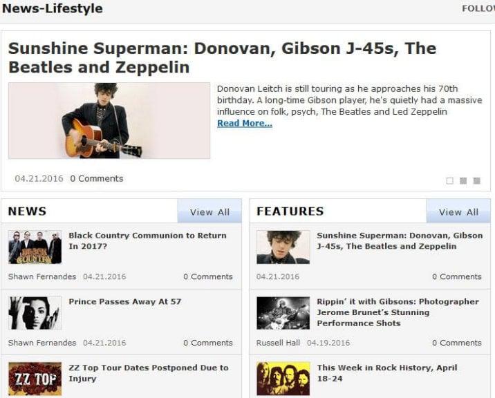 Gibson's News Lifestyle