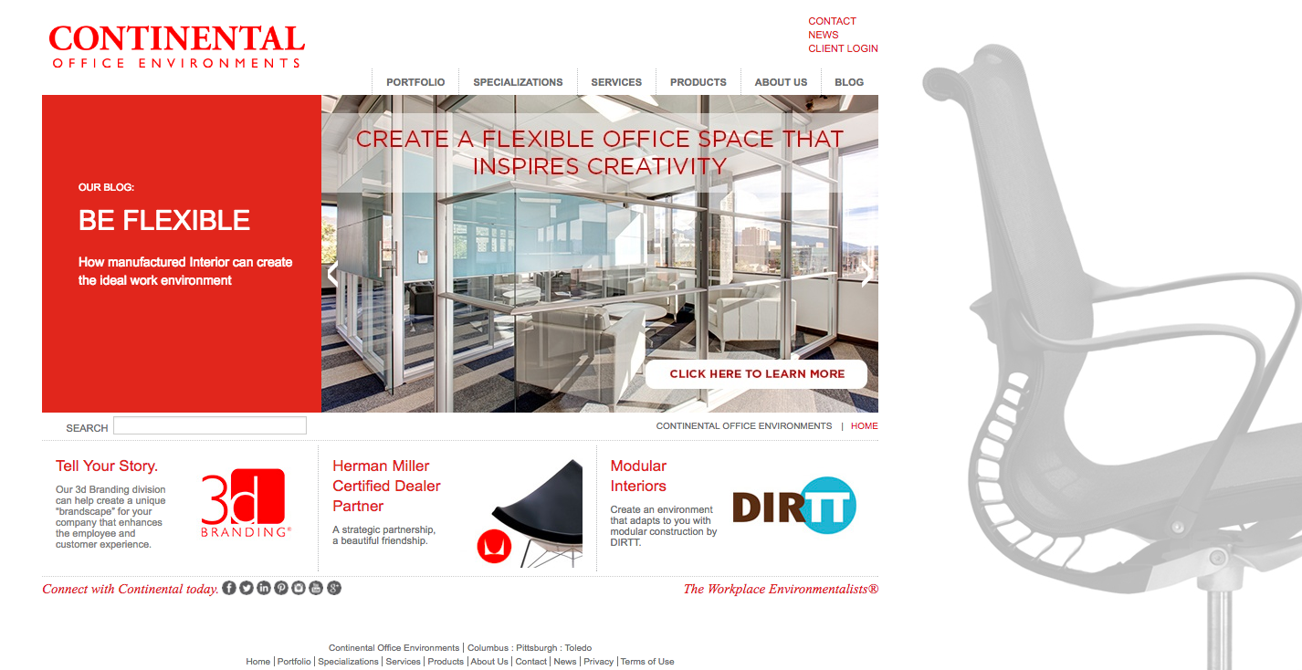 Homepage-Redesign