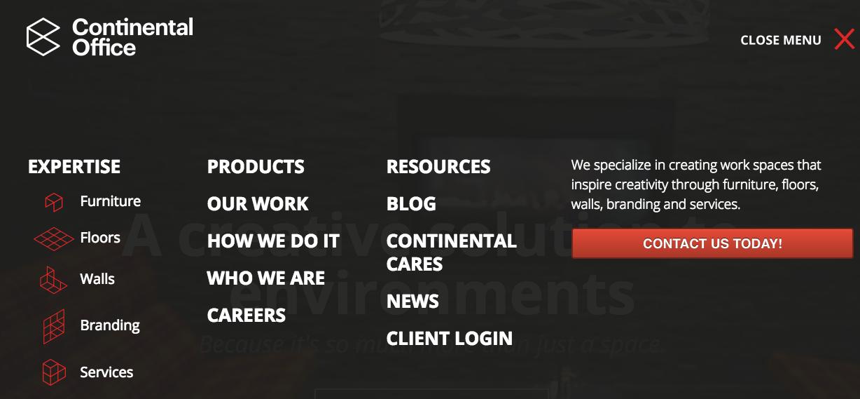 Website-Navigation-Redesign