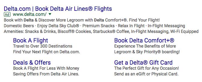 Delta-Google-PPC-example
