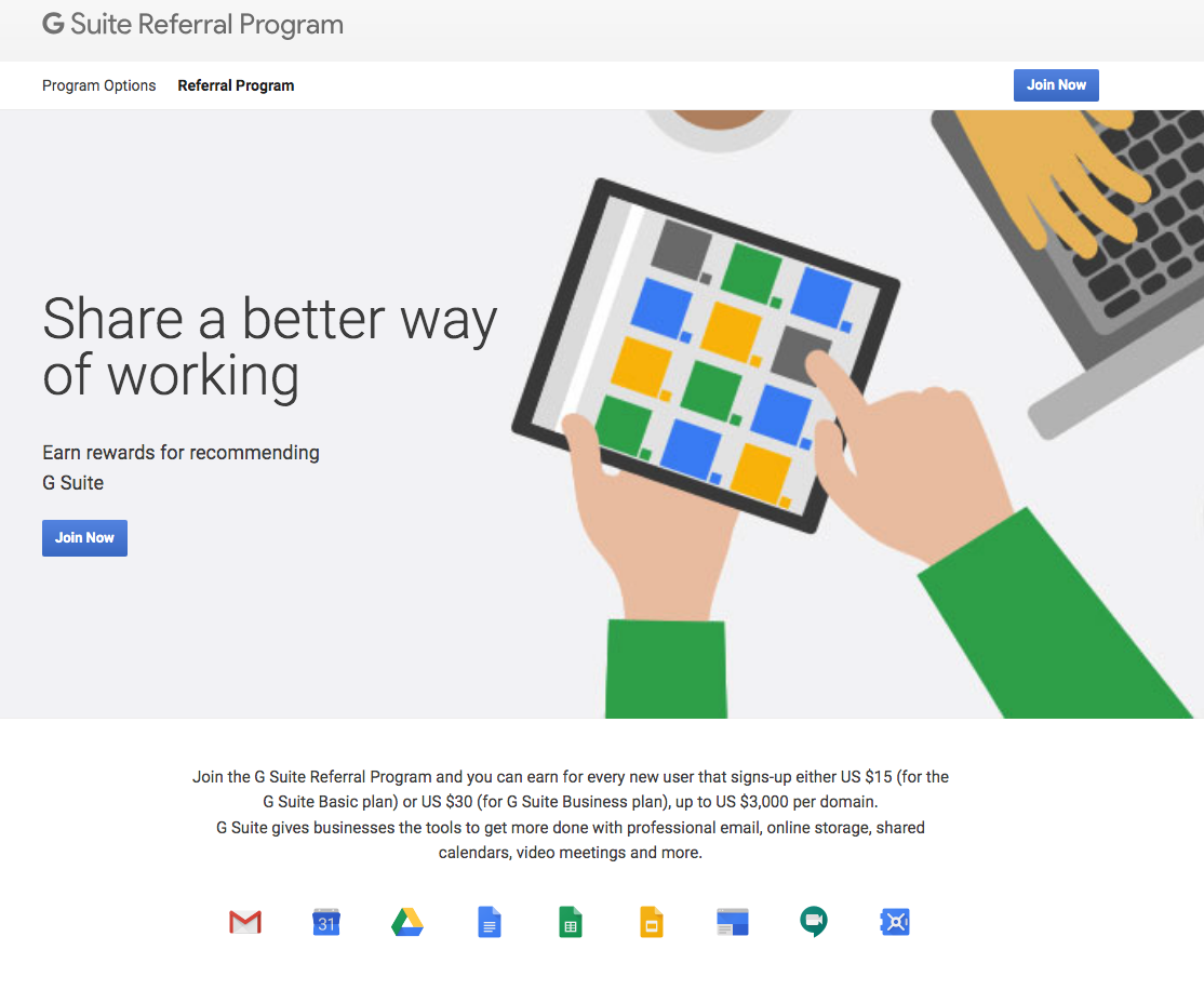 Google For Work Referrals