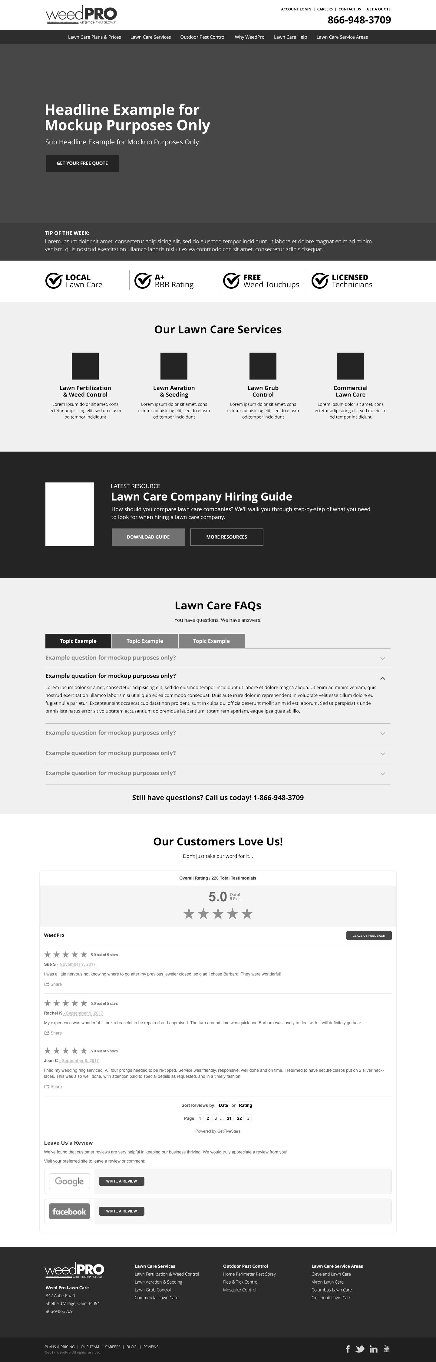 homepage-design-mockup