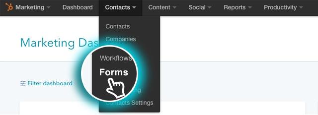 HubSpot forms