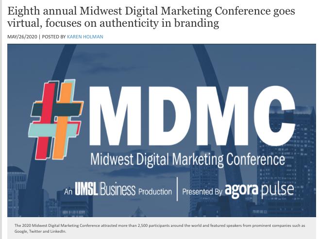 MDMC Goes Virtual