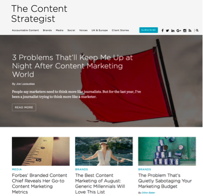 content strategist blog