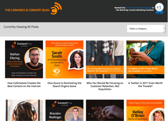 convince and convert blog