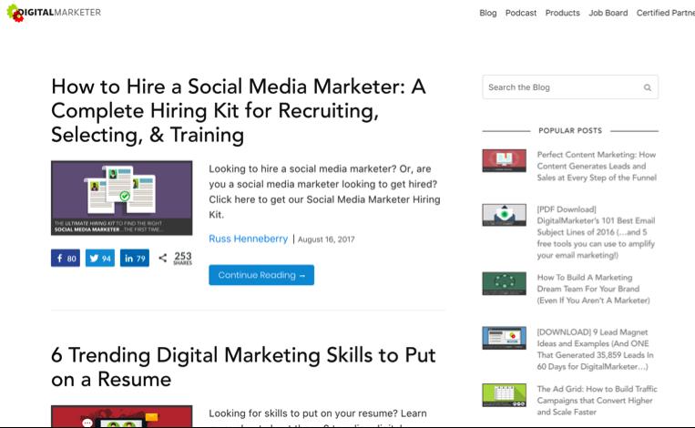 digital marketer blog