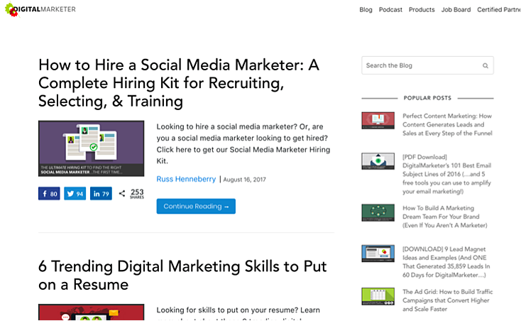 digital marketer blog