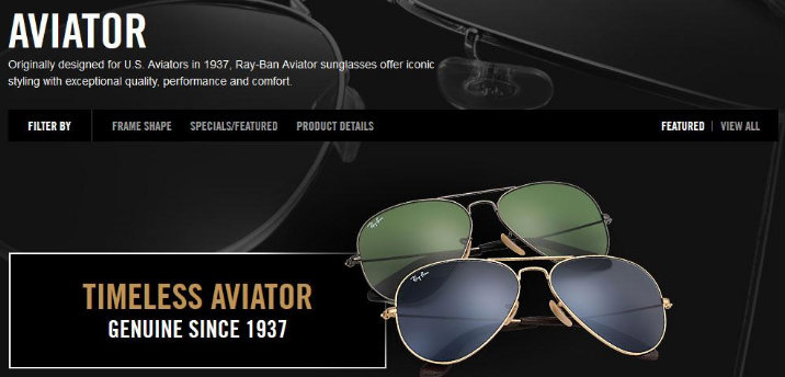 ecommerce-ray-ban