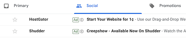 Gmail ad image