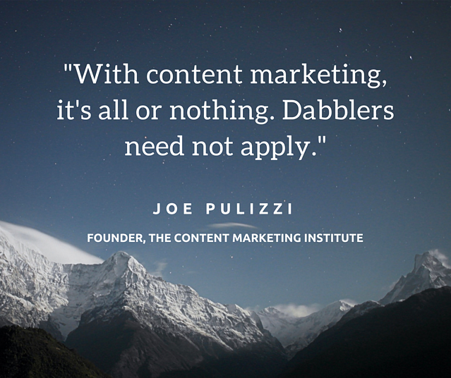 Joe Pulizzi Quote
