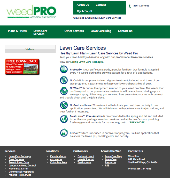 old-Weed-Pro-website