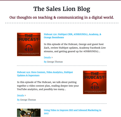 sales lion blog
