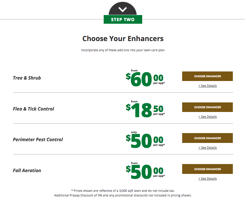 step-two-lawn-care-pricing-page