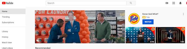 YouTube ad image