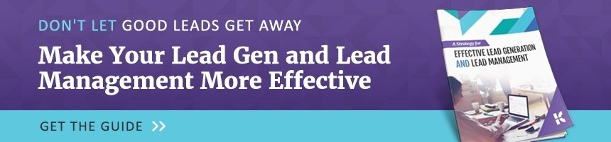 Effective Lead Generation and Lead Management Strategy eBook