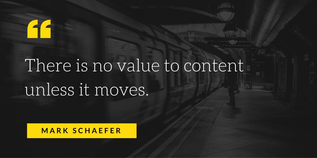 mark schaefer content value
