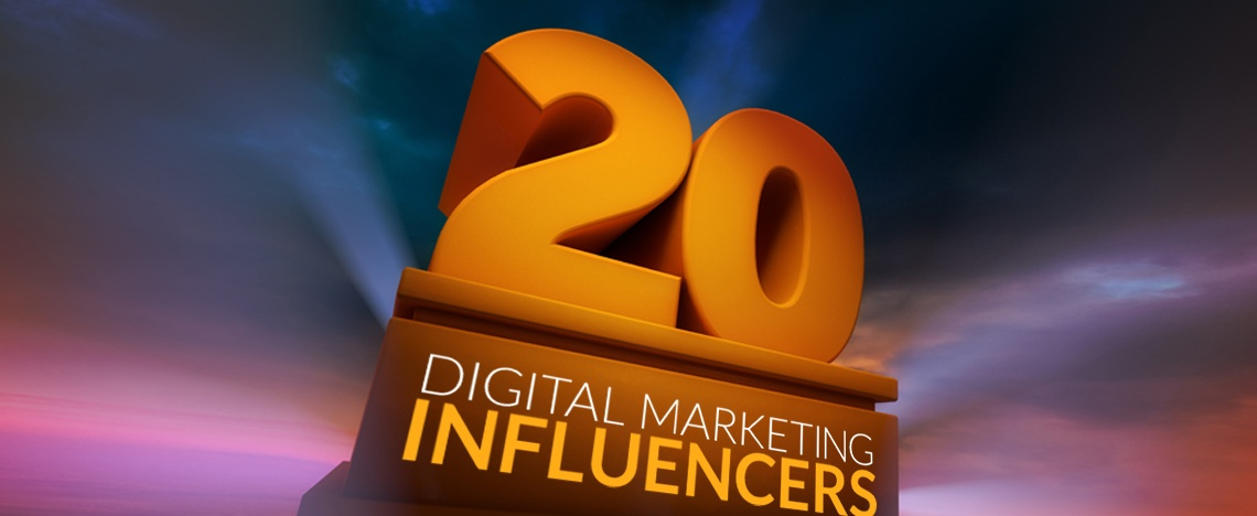 20 Digital Marketing Influencers Worth Watching