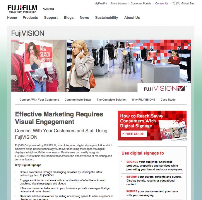 fujivision-website