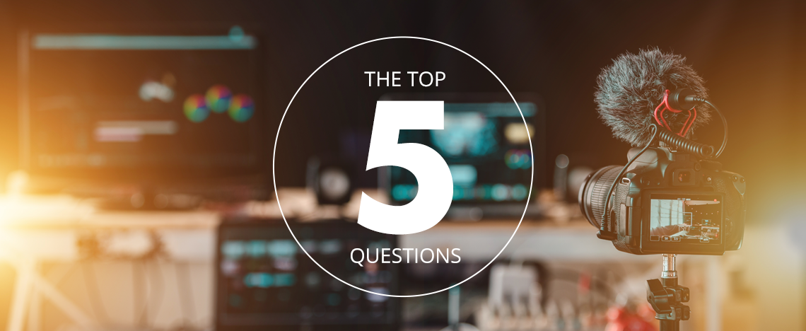 Here Are The Top 5 Questions About Video Content Marketing