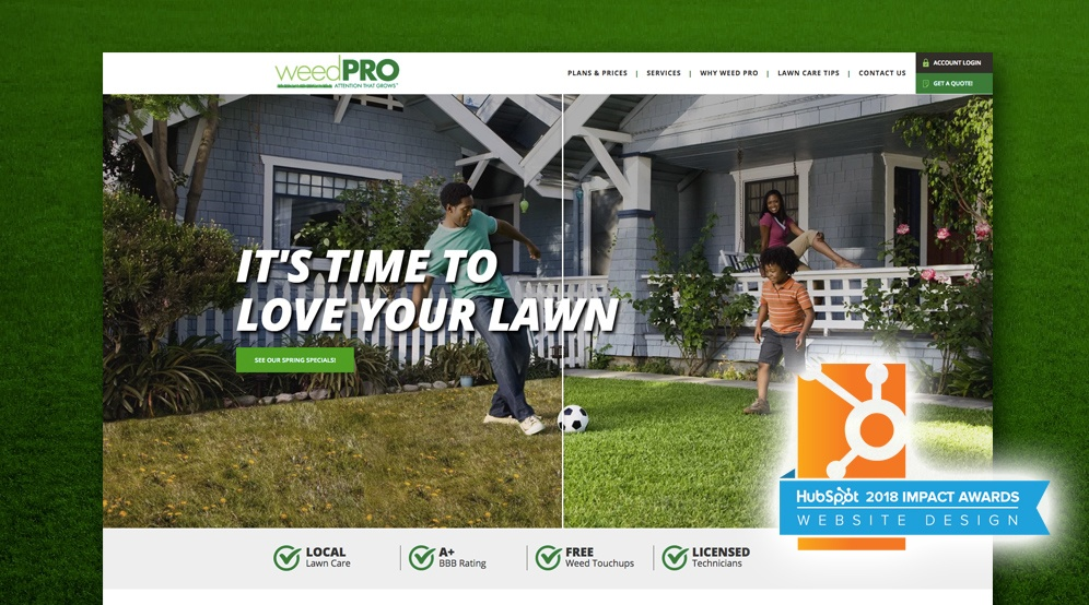 Weed Pro Increases Organic Leads 181% With Website Redesign