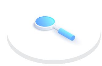 brand identity magnifying glass