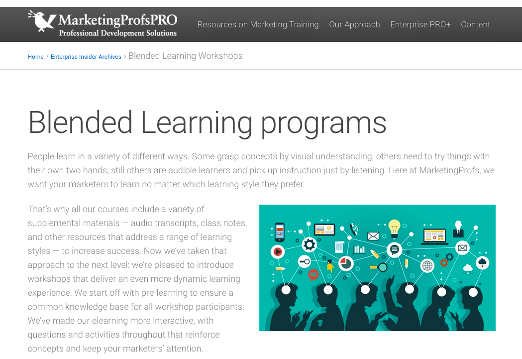marketingprofs-learning-program-content